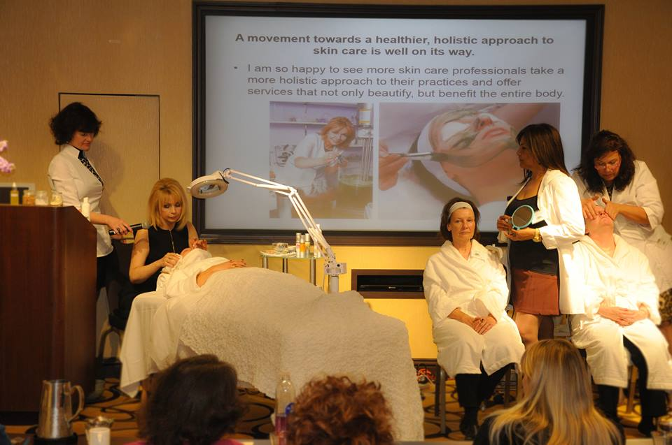 Elina Fedotova at Holistic Skin Care Conference 2013